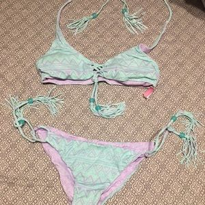 VS Pink Reversible Bikini